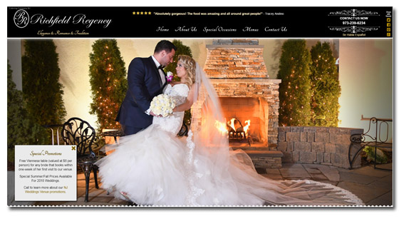 Banquet Catering Website Company